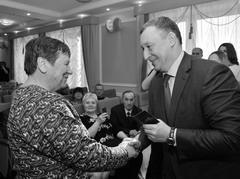Вице-губернатор Самарской обл. Александр Фетисов поздравил пенсионеров, сдавших на отлично нормы ГТО