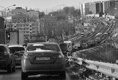 7 апреля из-за тотальной проверки автотранспорта на въезде в Самару сформировался многокилометровый затор.