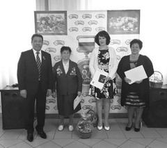 Коллектив предприятия поздравил и Николай Лядин