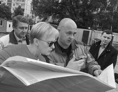 Глава Самары Елена Лапушкина ознакомилась с ходом строительства детских садов в Кировском р-не.