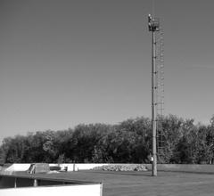 «Гордость» Александра Живайкина— возведенный посреди хоккейной площадки в Нефтегорске столб