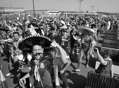 В Самаре болельщики из Мексики попрощались с ЧМ-2018.