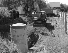 АО «ПО КХг. Тольятти» приступило к работе по созданию ливневой канализации для отвода воды