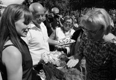 Welcome Foodball Cup представили вниманию главыг. о. Самара Елены Лапушкиной блюдо из рыбы осетровых пород