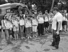 Участники сборной области отправились в Нововоронежск, чтобы выяснить, кто лучше умеет косить, доить, перетягивать канат