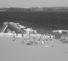 Пляжи цивилизуются