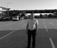 Юрий Эйрих на польской границе.