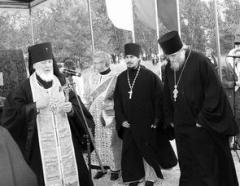 Освящение первого камня нового механосборочного завода ОАО «АВТОВАЗ»