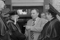 Доктор наук Николай Уткин День знаний провел с профессорами ТГУ.