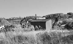13 сентября 2017г. Черные копатели продолжают разорять могильник отходов