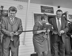 Ирина Кочукина открывала школу после ремонта с особыми чувствами