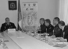 Генерал-лейтенант Михаил Черников -провел в Самаре совещание в рамках реализации стратегии Россия без ДТП 2018-2020