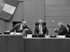 На заседаниях СГД случаются моменты, когда Валерий Троян выглядит как председатель