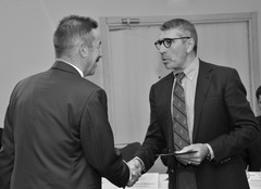Владимир Купцов получил поздравления от Владимира Аветисяна по поводу включения в состав регсовета «Союз машиностроител