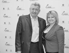 Аркадий Эстрин пользовался на Международном форуме «Город будущего. Тольятти 2014» вниманием со стороны поклонниц
