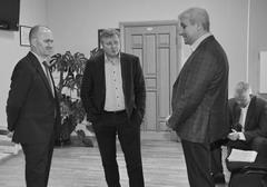 Врио гендиректора НКО «РО Самарской обл. «ФКР» Александр Константинов прибыл в Тольятти с докладом о планах