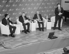 На форуме Действий ОНФ (слева направо): Владимир Гутенев, Виктор Сойфер, Павел Ожередов и Антон Гетта
