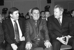 Борис Ардалин, Сергей Сычев и Константин Титов чествуют лидеров самарского бизнеса