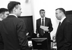 Дмитрию Микелю (на фото справа) дали понять, что с 2014г. КСП будет работать уже не под его контролем