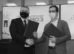 Денис Волков и Иван Петров подписали соглашение, давшее старт созданию первой в ПФО общественной системы мониторинга воздуха
