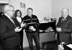Депутаты СГД (слева на право: Юрий Шевцов, Елена Крылова, Владимир Дуцев) открыли новое Госюрбюро в Комсомольском районе