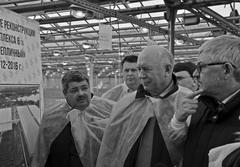 Андрей Половинкин (справа) и Михаил Фаерман (слева) представили губернатору новый комплекс теплиц