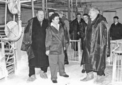 Идеи национального проекта привели первых лиц губернии на свинокомплекс «Поволж